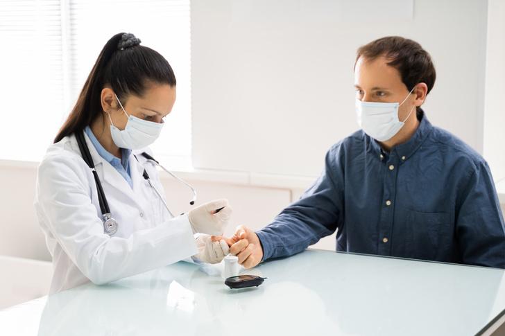 коронавирус вызывает сахарный диабет