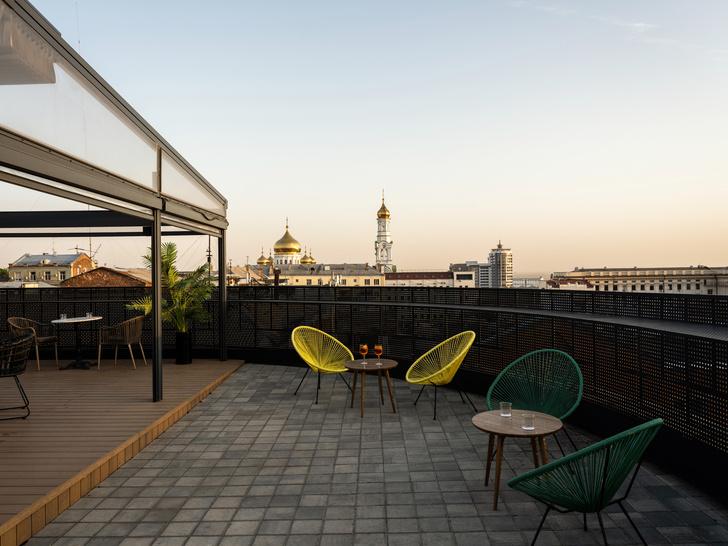 Фото №9 - Бар с панорамными видами на крыше отеля в Ростове-на-Дону
