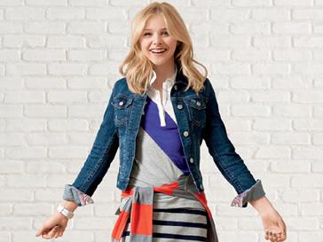 Хлое Морец (Chloe Grace Moretz) в рекламной кампании Aeropostale, весна-2013