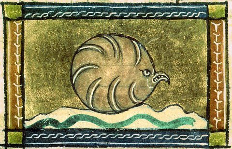 Фото №1 - Как в старину художники изображали животных, которых никогда не видели (25 странных существ)