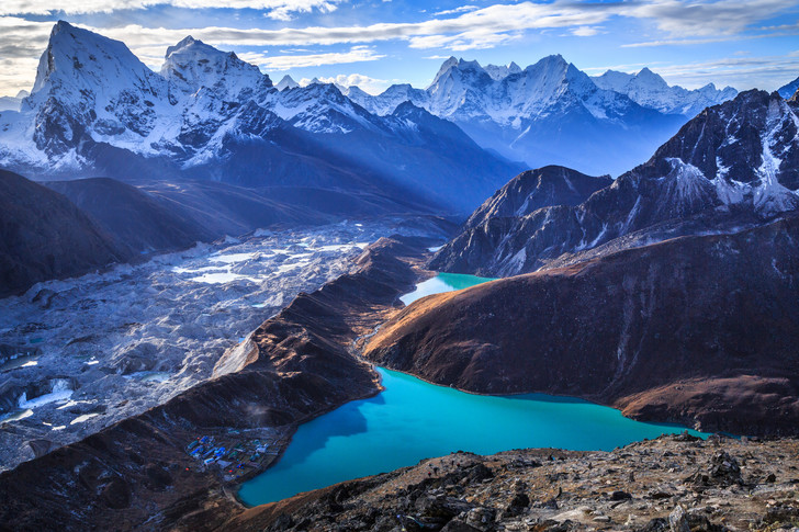 Фото №1 - Как возникли Гималаи?