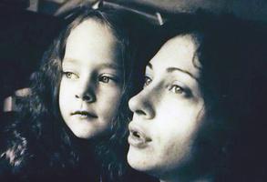 Аглая Тарасова с мамой