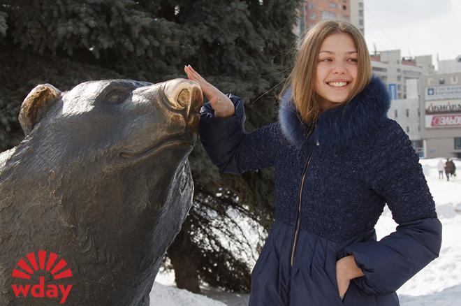 Таисия Вилкова: Пермский мишка принесет удачу!