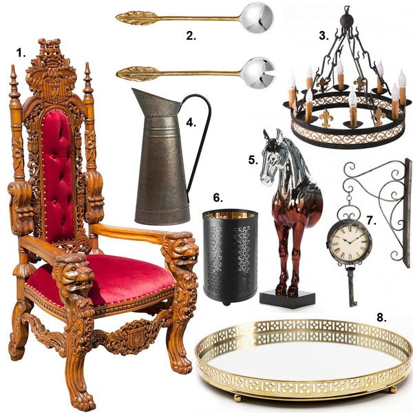 Фото №8 - Семь Королевств: интерьер в стиле «Игры престолов»