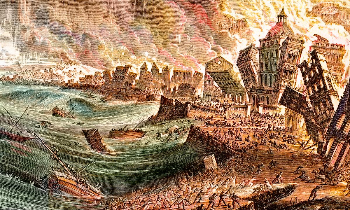 1755 lisbon earthquake