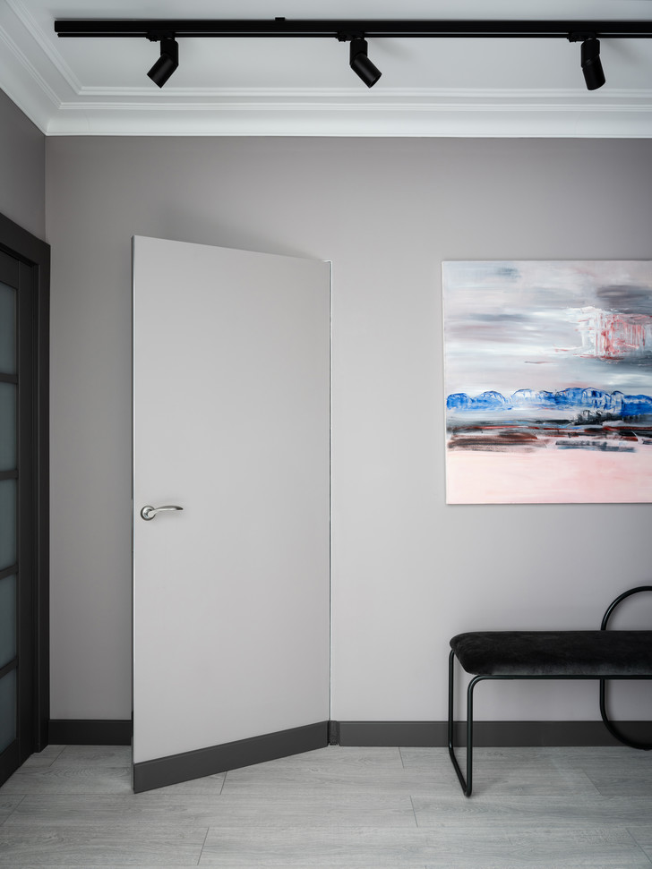 Фото №7 - Квартира в зеленых тонах для жизни за городом