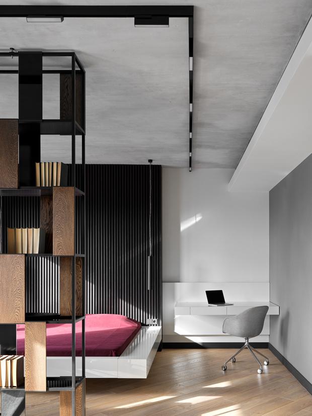 Фото №8 - Апартаменты в стиле минимализм на Маяковской
