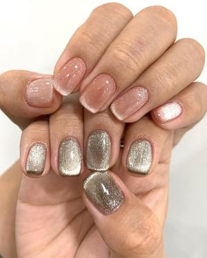Маникюр на короткие тренды маникюралинные ногти