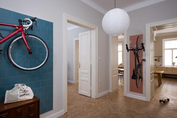 Фото №2 - Квартира для пары велосипедистов в Вене