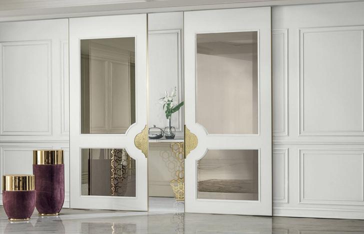 Фото №4 - Шик, блеск, красота: межкомнатные двери Aluminimum Chic от Longhi