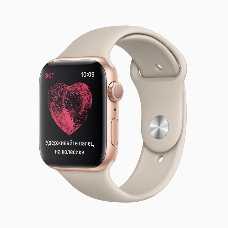 Фото №1 - Apple сделает доступными в России ЭКГ и обнаружение нерегулярного пульса на Apple Watch