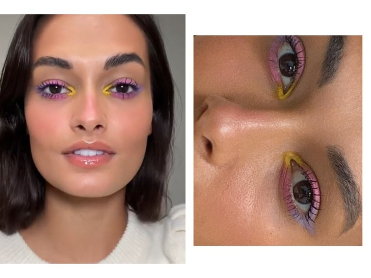 Фото №2 - Ах, эти глаза напротив! Хотим идеальный макияж на лето, как у Жизель Оливейры