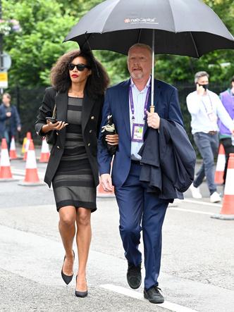 Фото №6 - Бекхэм с девушкой, кузен Королевы и другие знаменитости на открытии Уимблдона 2021