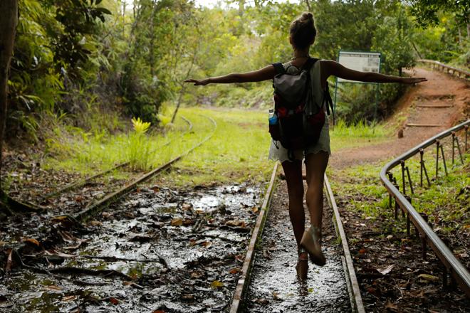 Фото №15 - Регина Тодоренко: «После «Орла и решки» ноги разбиты, как у балерины!»
