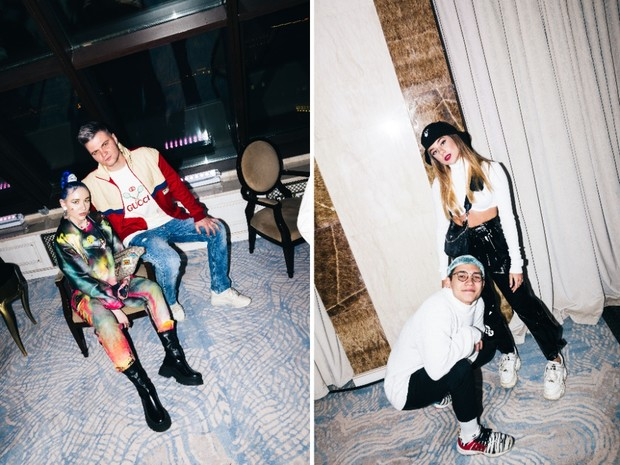 Фото №2 - Катя Адушкина, Volodya XXL и Карина Karrambaby на дне рождения своего продюсера Кирилла Диденок