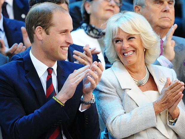 Фото №1 - Сложный момент: какой была первая встреча Камиллы и принца Уильяма