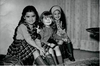 Моника Беллуччи в детстве