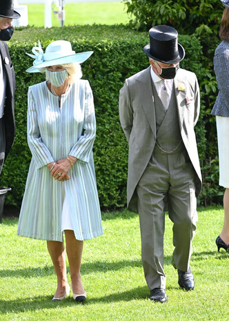 Фото №10 - Лучшие образы на открытии Royal Ascot 2021 (и немного безумных шляп)
