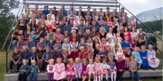 Семья из 150 детей