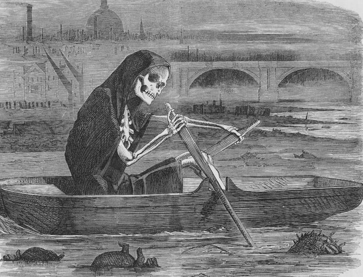 Фото №1 - Великая лондонская вонь: позорные страницы из истории Великобритании