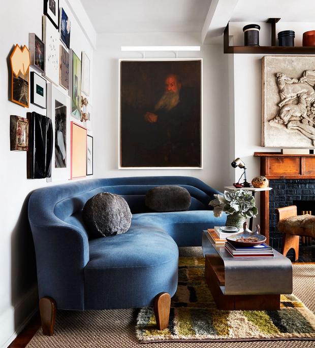 Фото №1 - Квартира дизайнера Чарли Феррера в Нью-Йорке