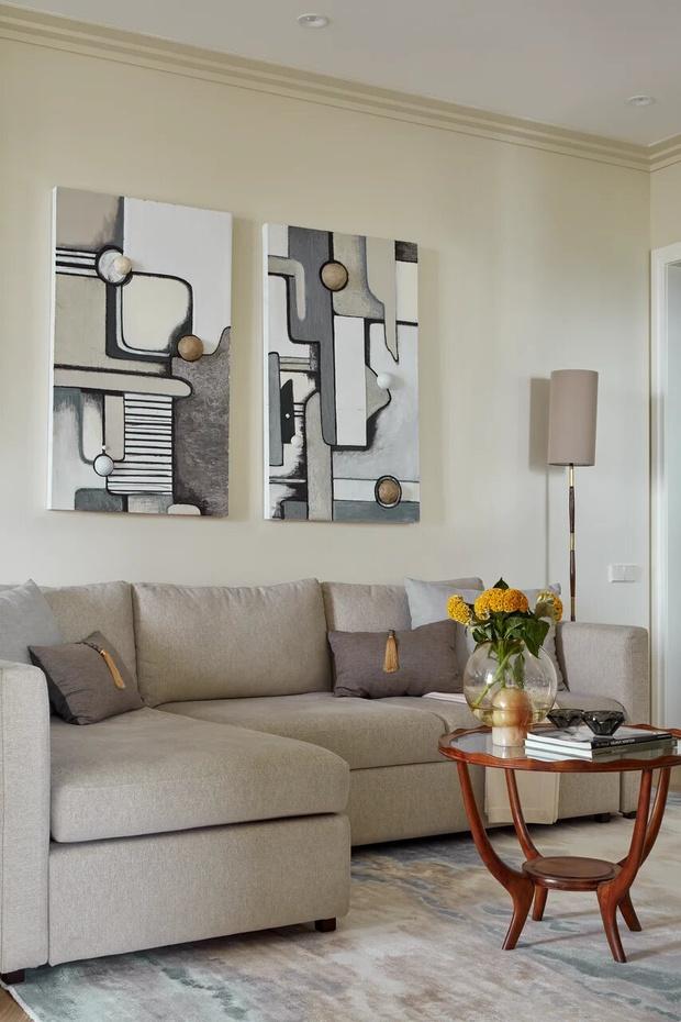 Фото №5 - Элегантный монохромный интерьер квартиры 85 м²