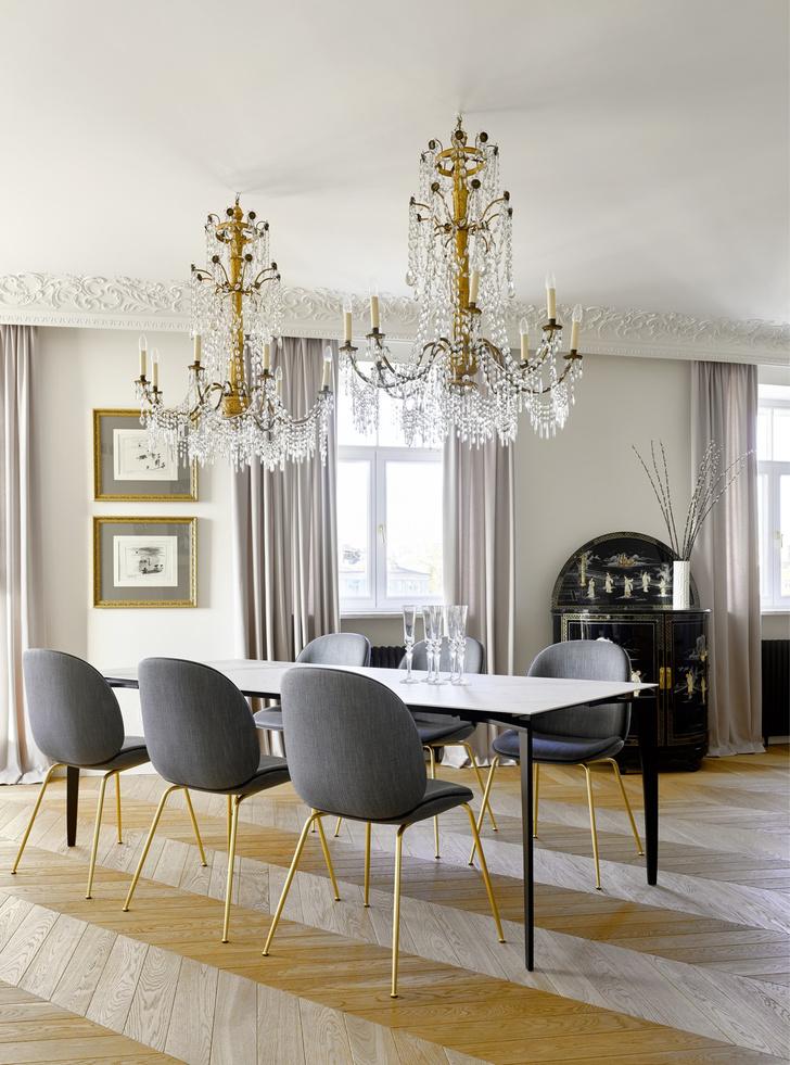 Фото №5 - Самые красивые комнаты за 20 лет: кухни-столовые