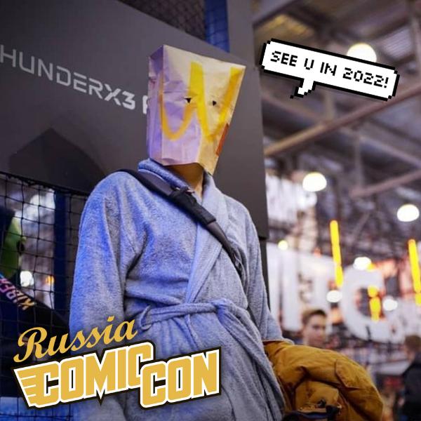 Фото №1 - Comic Con и ИгроМир 2021 переносятся на следующий год!