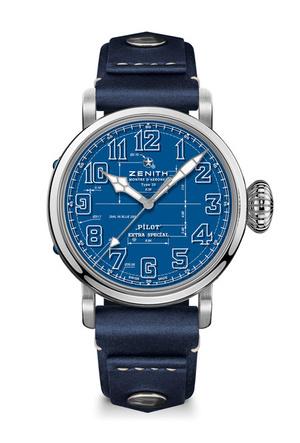 Фото №2 - Глубокий синий: бренд Zenith представил новинку в самом модном цвете года