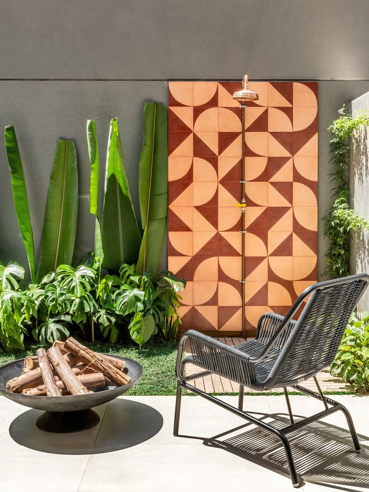 Фото №4 - Эклектичный дуплекс с садом в Сан-Паулу