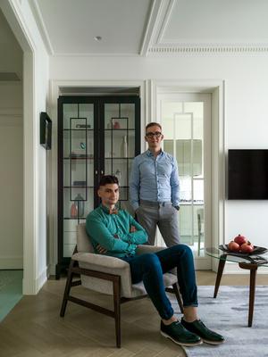 Фото №3 - Светлая квартира 58 м² с винтажной мебелью в Москве
