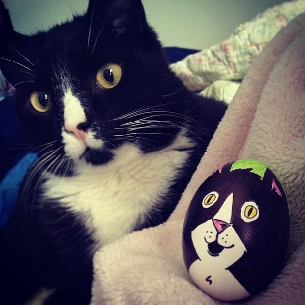 Фото №13 - Как расписать яйца на Пасху: советует Instagram