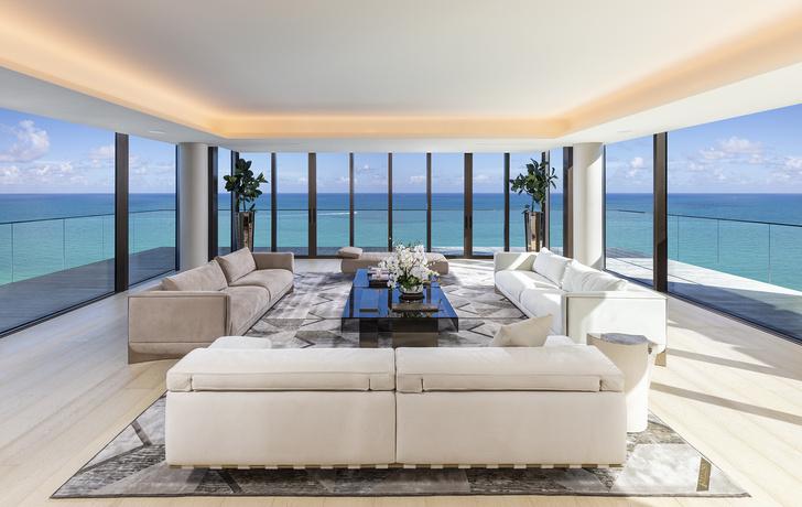 Фото №1 - Пентхаус в Майами по дизайну Антонио Читтерио