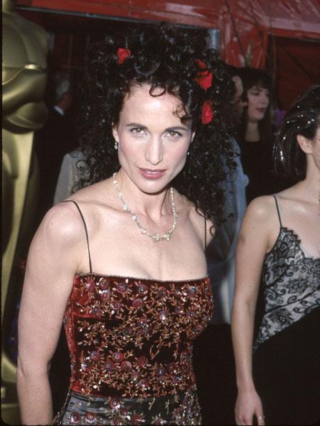 Энди Макдауэлл, церемония «Оскар», 1999 год