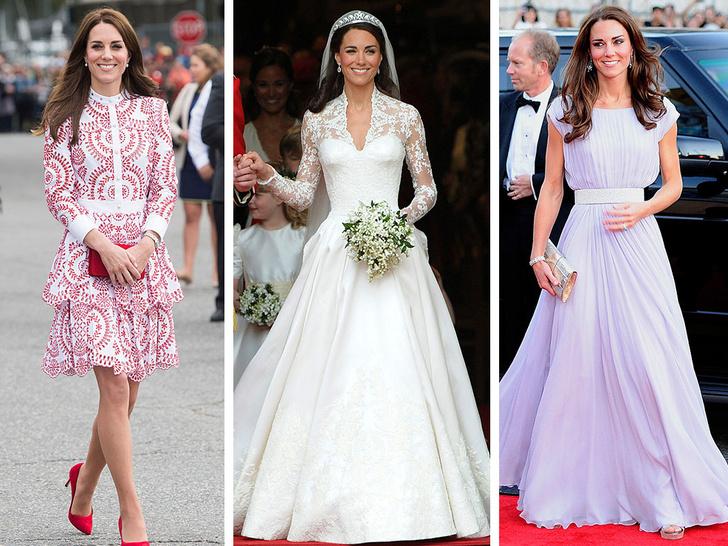 Фото №1 - Любимый бренд: самые роскошные выходы герцогини Кейт в Alexander McQueen