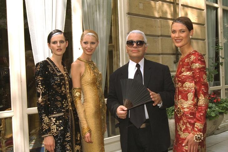 Фото №8 - Муза Лагерфельда и аристократка: какой была супермодель 90-х Стелла Теннант