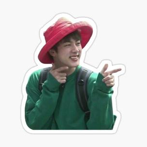Фото №10 - Тест: Выбери стикер с Джином из BTS, и мы скажем, как ты встретишь Новый год