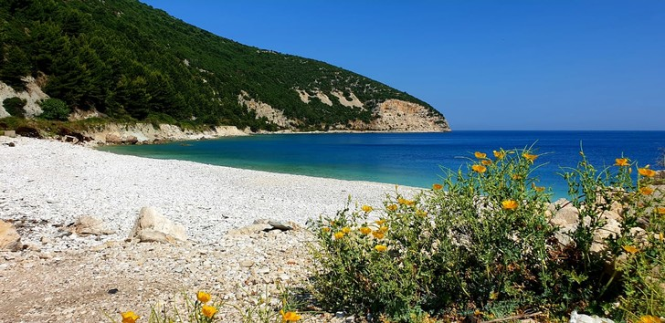 Пляж на острове Сазан. Фото: Феликс Грозданов