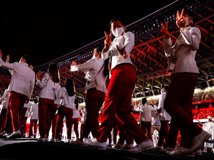 Фото №19 - Как прошло открытие Олимпиады в Токио: самые яркие кадры