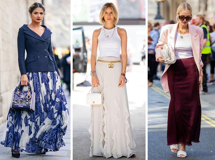 Фото №1 - С чем носить юбки макси: 7 универсальных сочетаний на любой случай