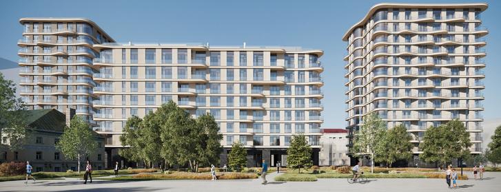 Фото №3 - Топ-5 новых дизайнерских жилых комплексов Москвы