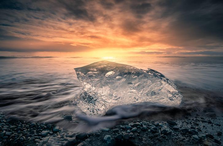 Фото №1 - Правда ли, что лед из морской воды пресный?
