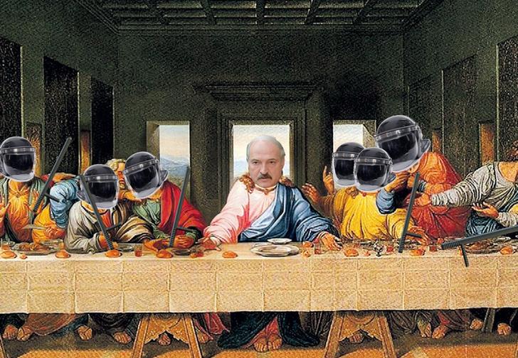 Фото №1 - Лучшие шутки про тайную инаугурацию Лукашенко