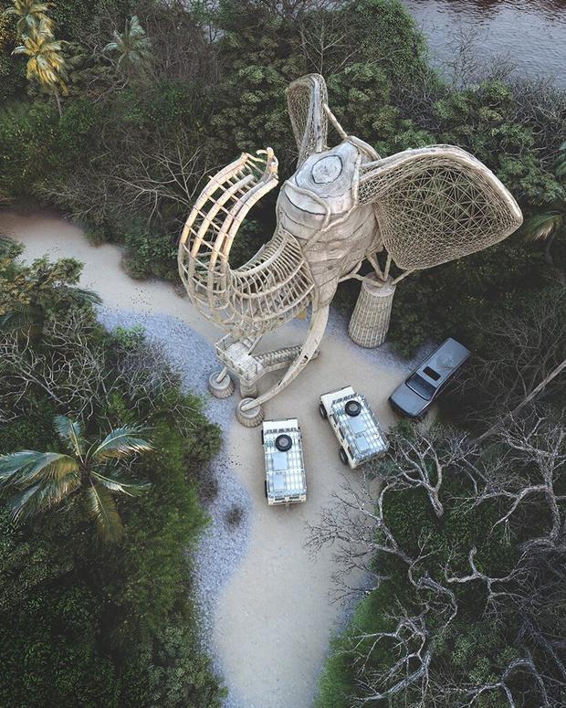 Фото №2 - Смотровая площадка в форме слона на Шри-Ланке