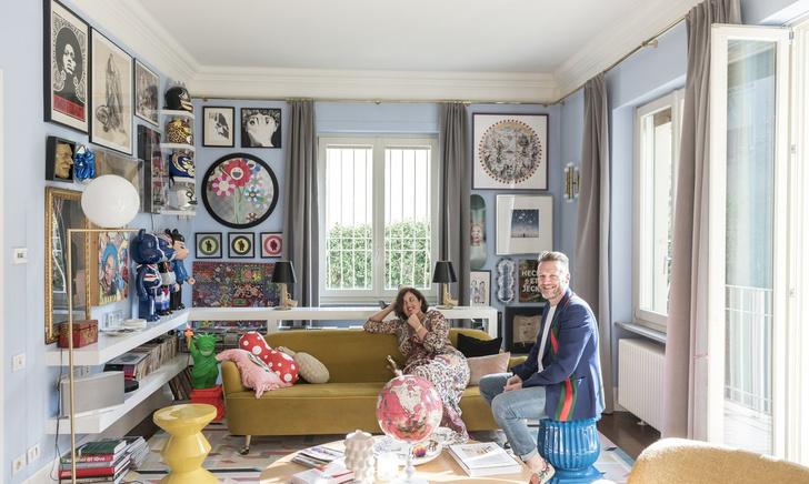 Фото №1 - Миланский дом основателей марки cc-tapis