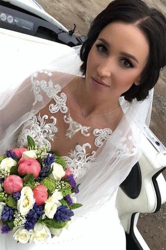 Фото №3 - Волочкова показала свадебное платье