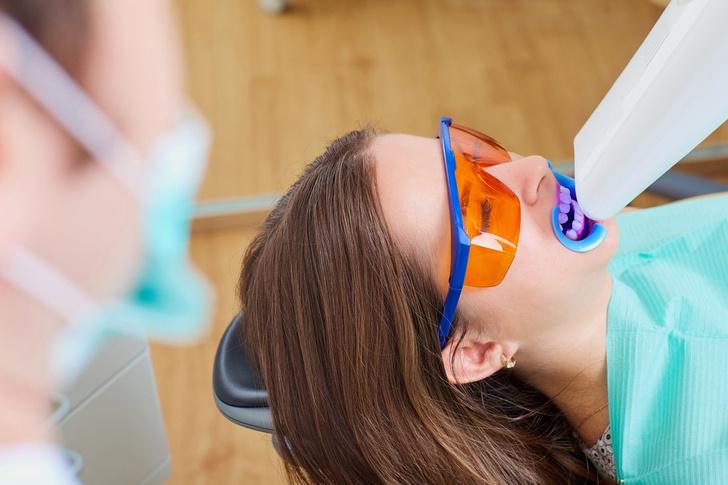отбеливание зубов как делают