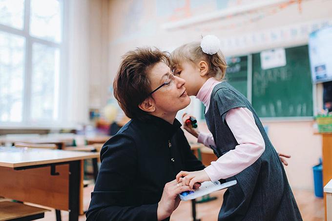 Мария Васильева, архитектор, и ее дочь Аня