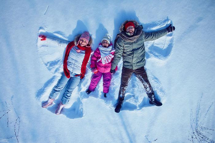 Фото №1 - Семейная морозотерапия