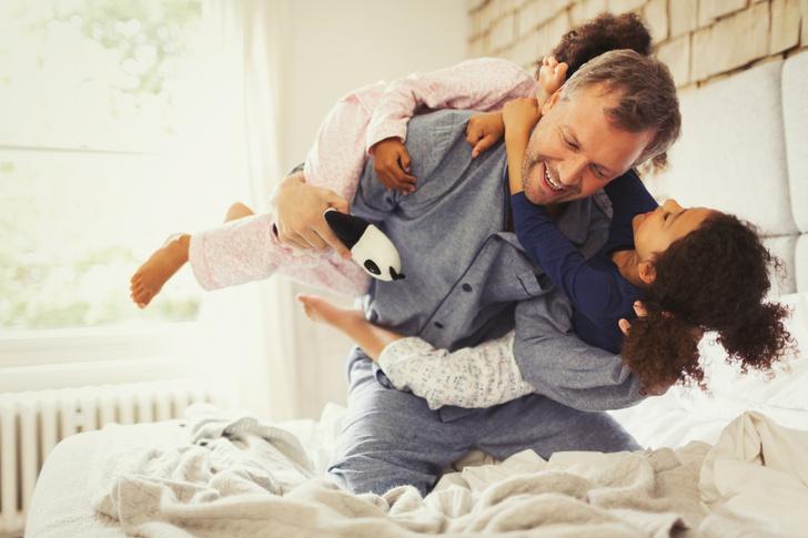Фото №1 - Игры папы с ребенком